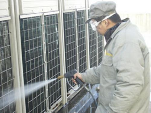 中央空调的保养之清洗
