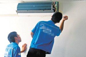 空调灰尘积压换季时要给空调洗个澡