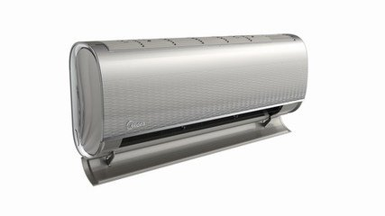 美的柜式空调出风量小,制冷效果差维修服务案例